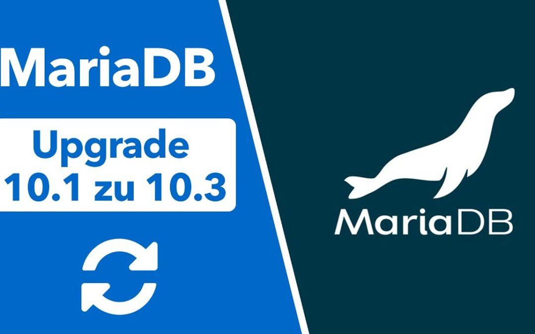 MariaDB von 10.1 auf 10.3 aktualisieren auf Ubuntu 20.04 & 18.04 Server- Nextcloud Upgrade Guide