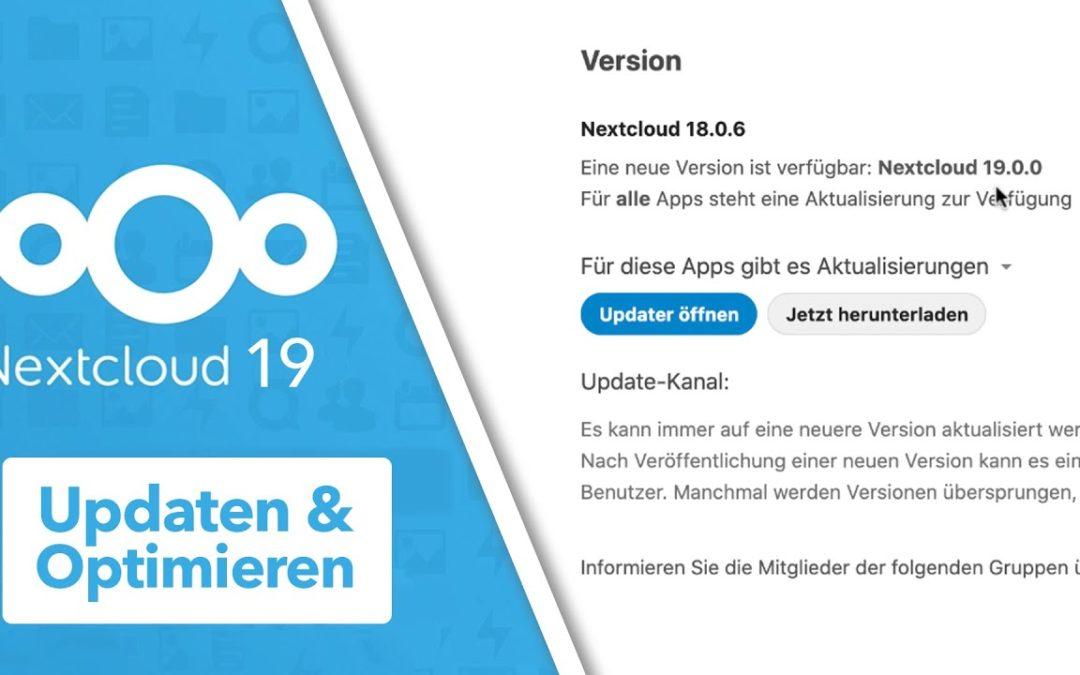 Nextcloud 19 – Update durchführen & PHP Upgrade PHP 7.2 auf 7.4