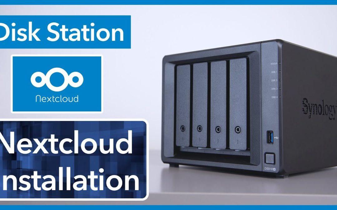 Nextcloud auf Synology Disk Station installieren – Schritt für Schritt Anleitung