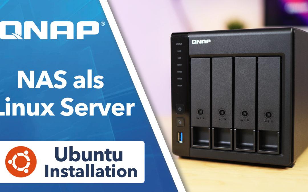 QNAP NAS Server – Ubuntu Linux als Container (LXD) installieren